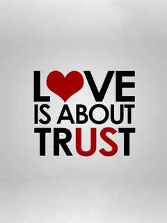 Download Love is about trust - Heart touching love quote for your mobile  HD...