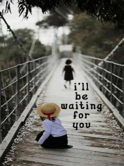 Download Waiting For U Wallpaper Mobile Cell Phone