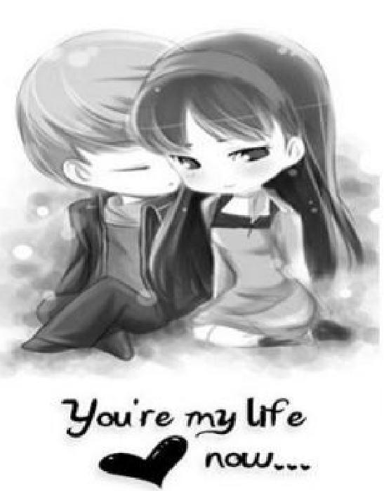 Download U R My Life Romantic Wallpapers Mobile Version