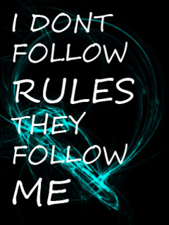 Download Rules Wallpaper For Mobile Cell Phone