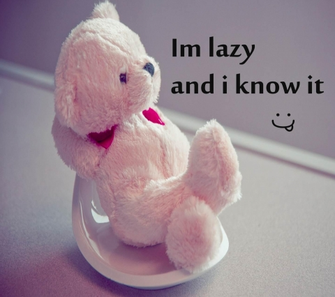 Download I am lazy and i know it wallpaper - Whatsapp funny images for ...