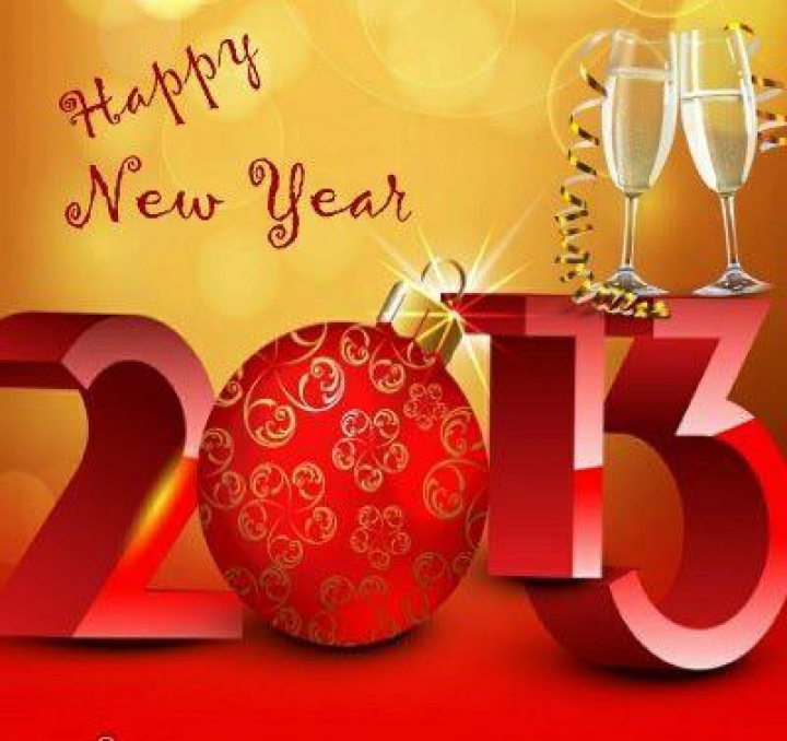 Download Happy New Year 2013 Wallpapers To Your Cell Phone 2013 3d