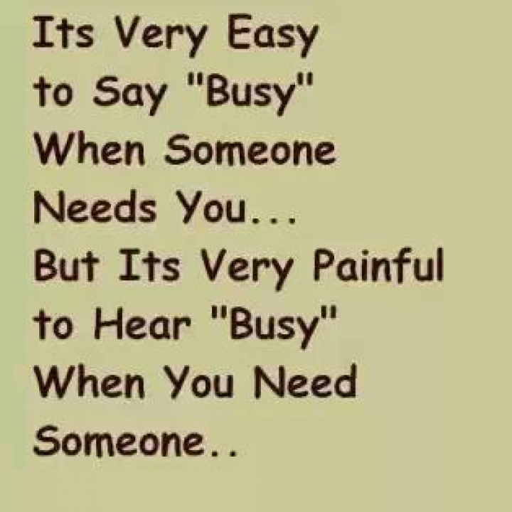 Download Busy - Heart touching love quote for your mobile cell phone