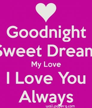 Ping i love you good night wallpaper