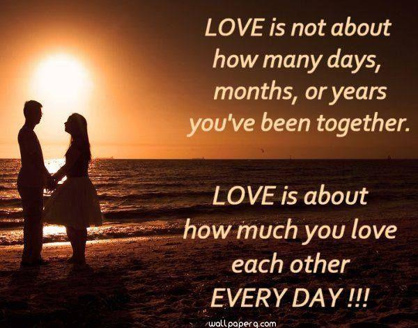 Love each other every day