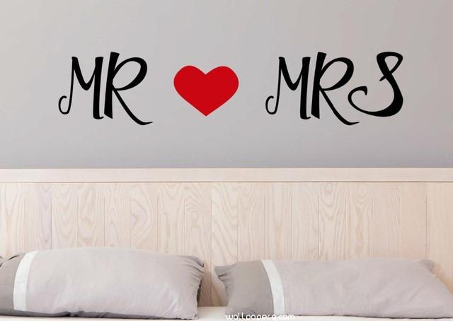 Mr and mrs perfect room