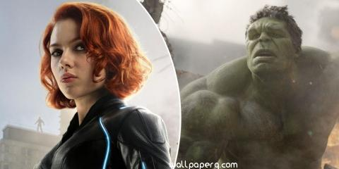 Black widow hulk