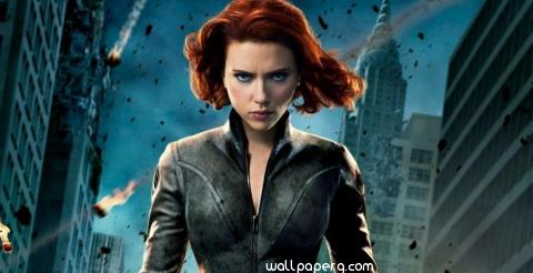 Black widow scarlett joha