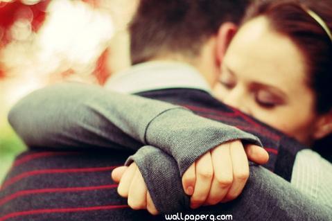 Hug image wallpaper