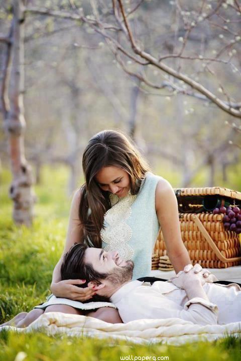 In her laps image in love