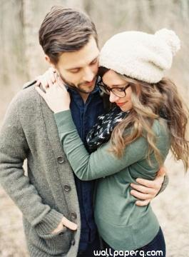 Girl with glasses in love