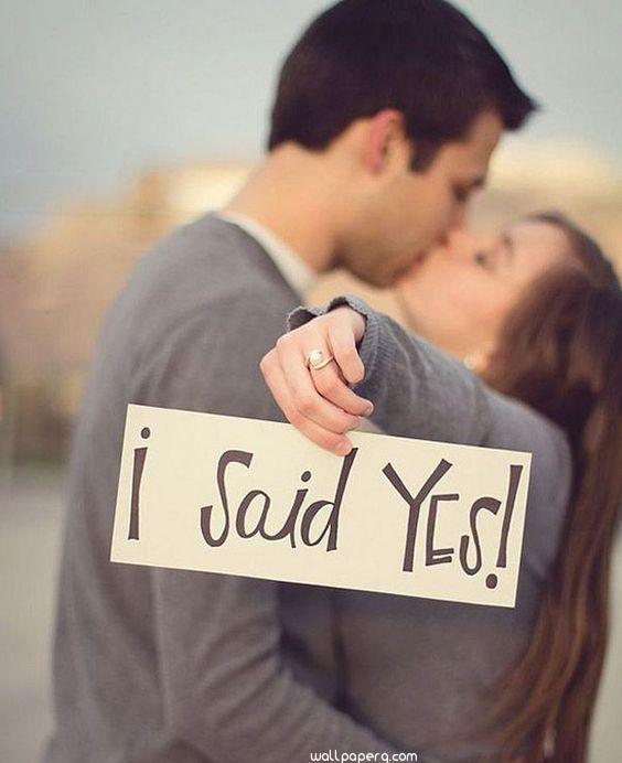 Girl saying yes