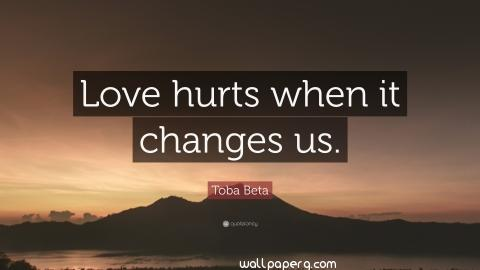 Love hurts wallpapers with quotes widewallpapers
