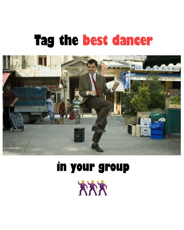 Best dancer of the group image