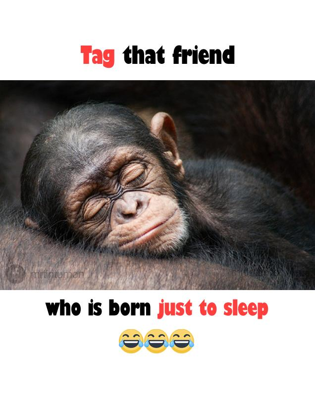 Tag one who is just born