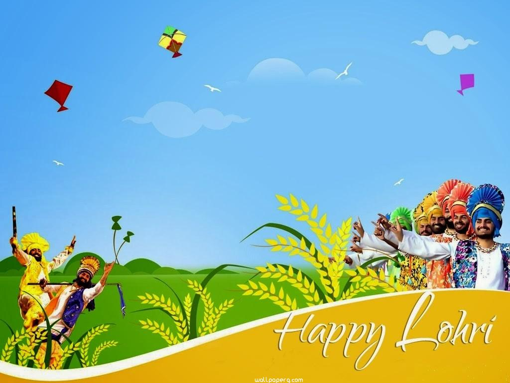 Happy lohri punjab wallpapers photos 1024x768
