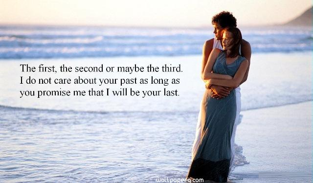 Romantic love promise to the lover on promise day image