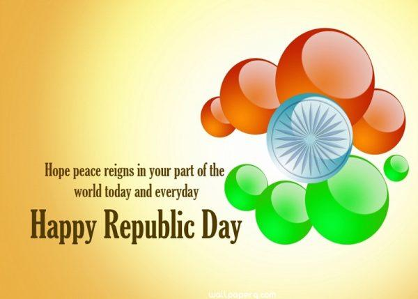 Republic day status for w