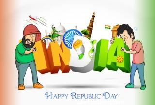 Republic day 2018 whatsapp share