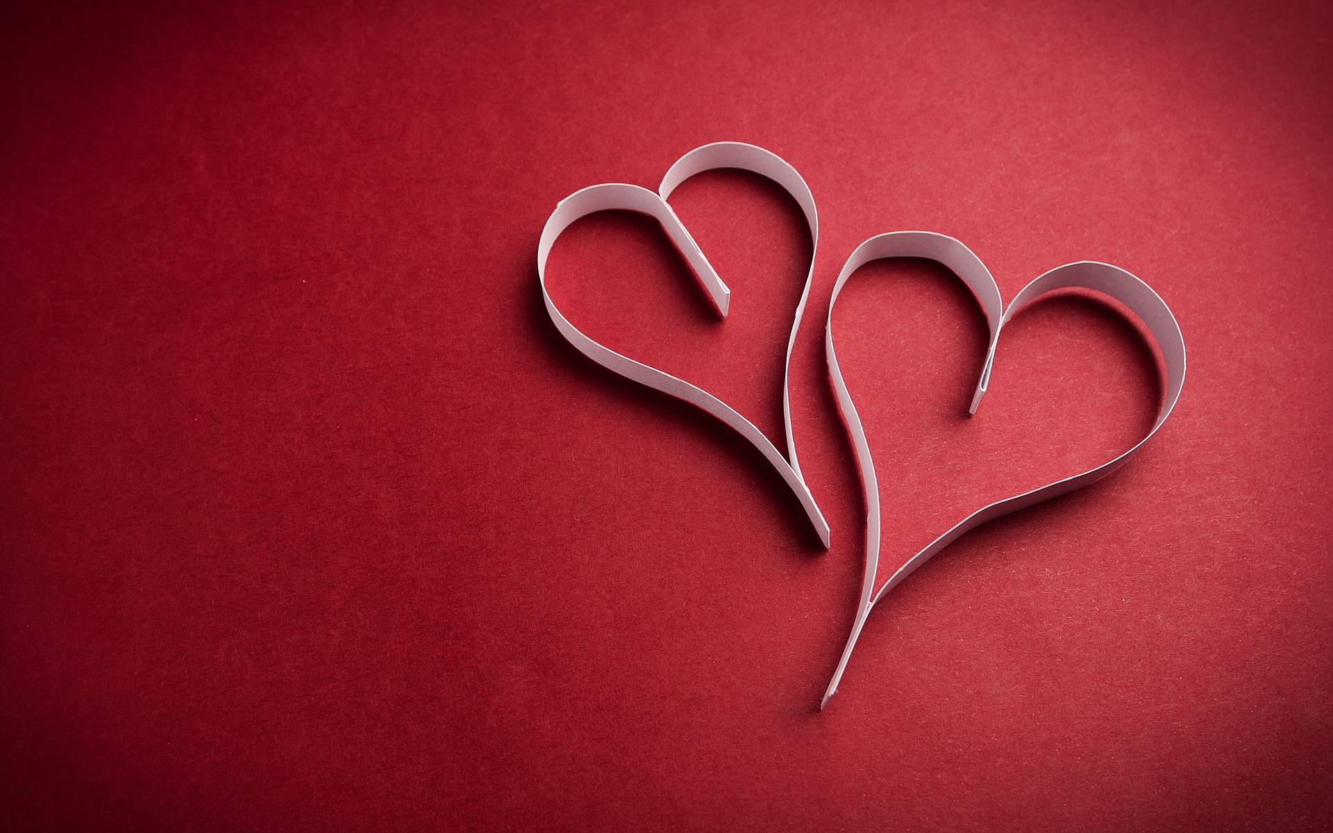 Red hearts background wallpaper