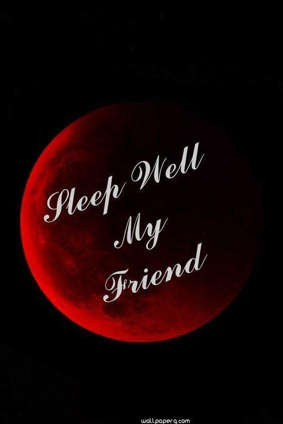 Good night wish image in hd