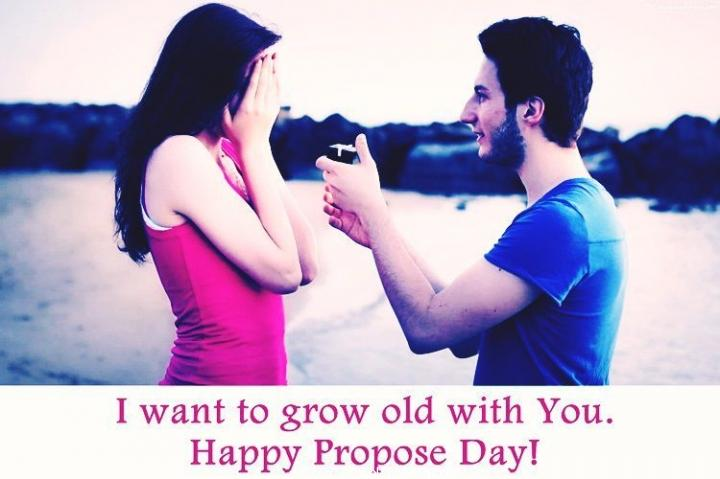 I want to grow old with you quote
