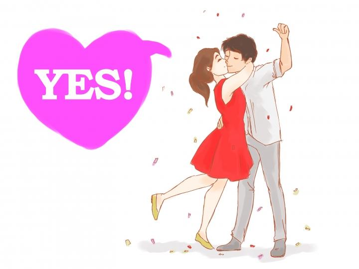 Yes propose day images