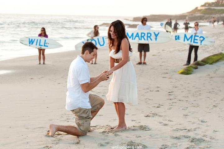 Marriage proposal idea images