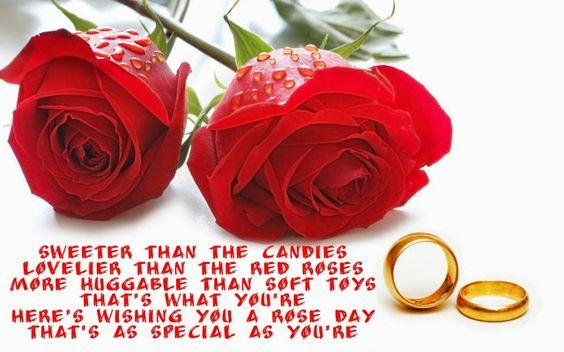 Quotes on red rose day