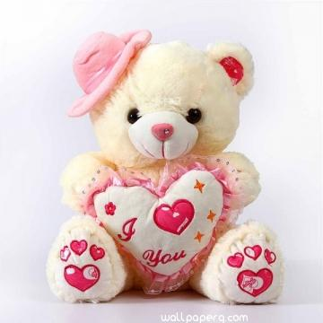 Download Cute Teddy Bear For Teddy Bear Day Valentines Day Mobile