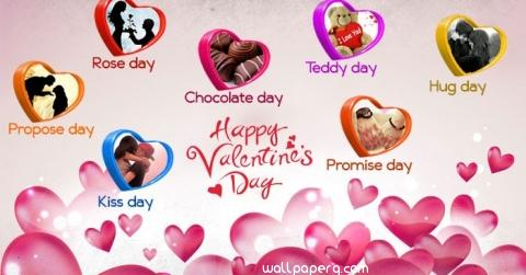 Valentine days in feburary