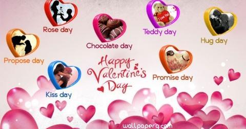 Valentine days in feburary