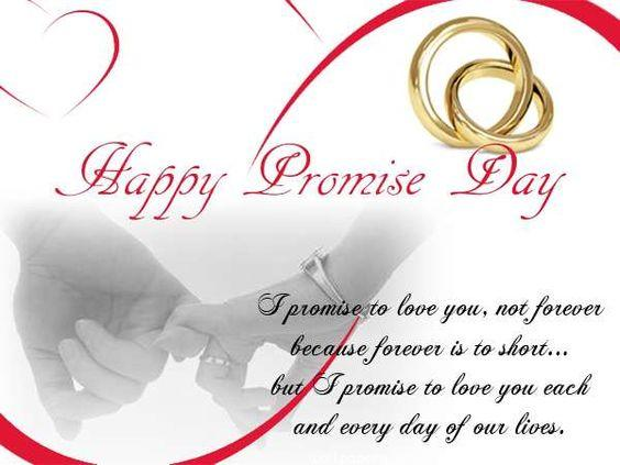 Promise day hd image with quote