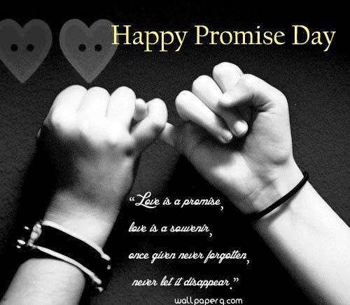 I promise image