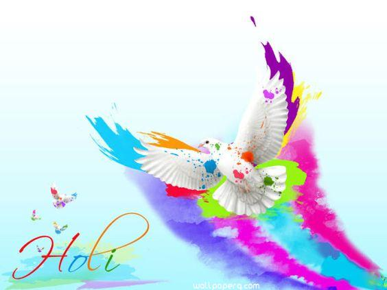 Rang barse holi wallpaper