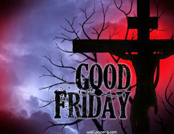 Good friday with cross