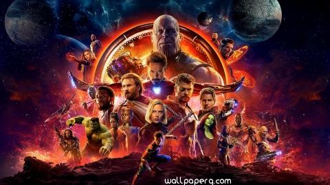 Avengers infinity war all heroes