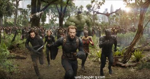 Avengers infinity war scene hd