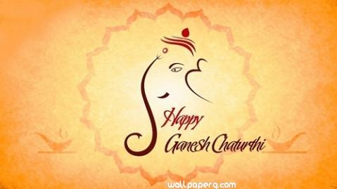 Happy ganesh chaturthi greeting