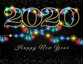 New year wishes photos 2020