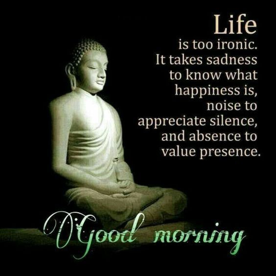 Good morning wish with budda