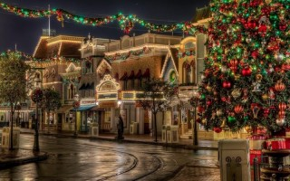 Christmas city  ,wide wallpapers,ultra hd 4k wallpapers,images