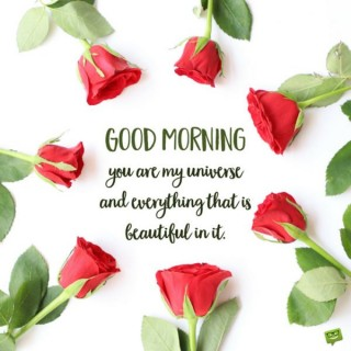 Loving good morning quote for her
