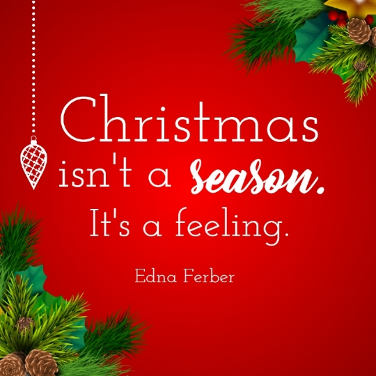 Best christmas is feeling quote