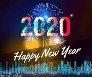 2020 happy new year wish whatsapp status