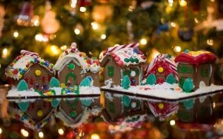 Christmas ginger bread ho