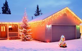Christmas house decoratio