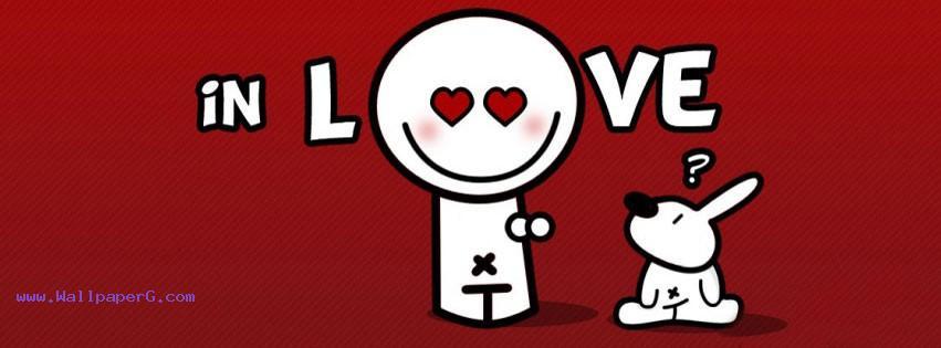 In love fb cover