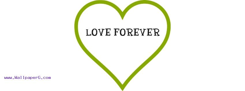 Love forever fb cover