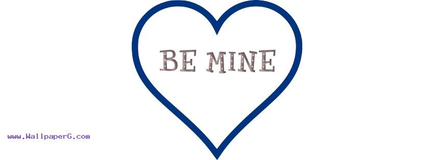 Be mine fb cover